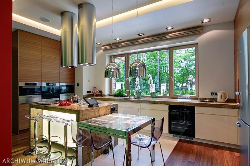 Galeria zdjęć  Nowoczesna kuchnia połączona z salonem Zobacz, jak wyposażyć   -> Nowoczesna Kuchnia Z Jadalnią I Salonem