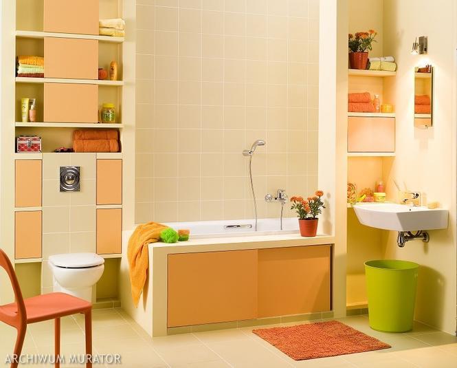 Łazienka z dwóch pomieszczeń