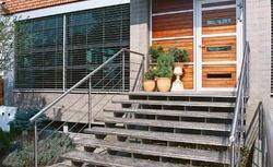 Ładne schody zewnętrzne - galeria zdjęć schodów do domu