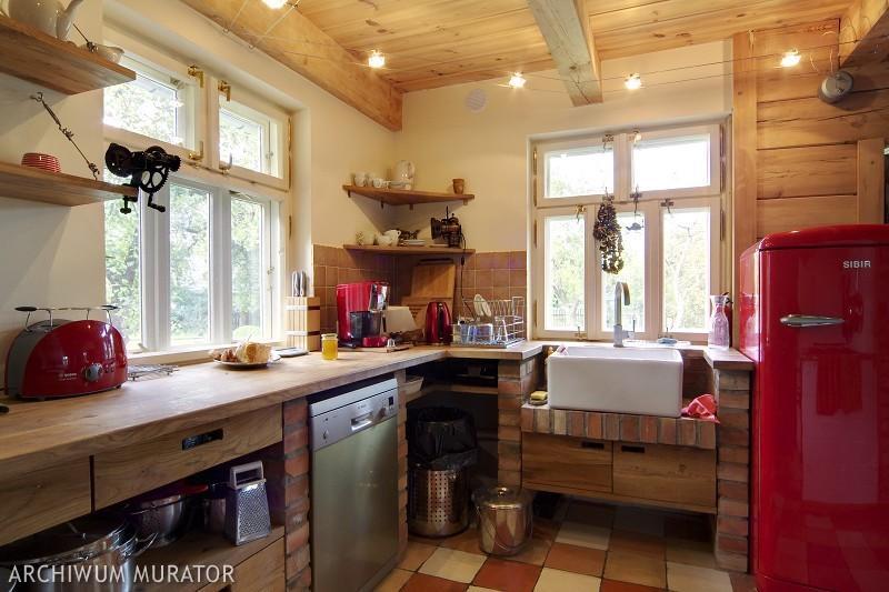 Galeria zdjęć  Zdjęcia kuchni rustykalnych meble i dodatki Zobacz inspiruj   -> Kuchnia Rustykalna Zdjecia
