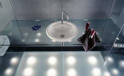 Oświetlenie łazienki - najważniejsze zasady rozmieszczania światła w łazience