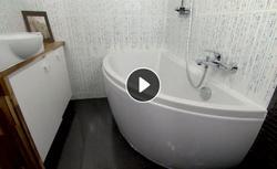 Pomysł na aranżację małej łazienki. Funkcjonalna łazienka urządzona zgodnie z zasadami feng shui
