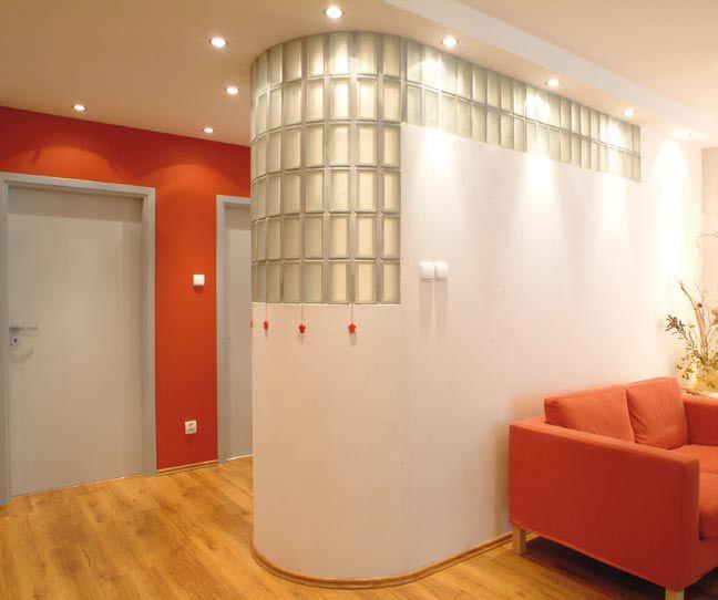 Luksfery: pomysły na ścianki z luksferów