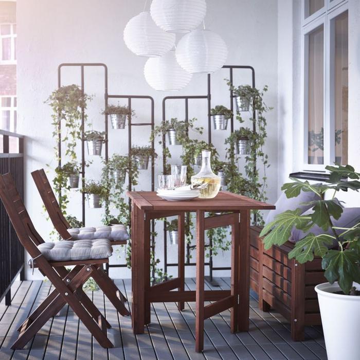 galeria zdj pomys y na aran acj meble i dodatki na balkon balkonowe inspiracje zdj cie. Black Bedroom Furniture Sets. Home Design Ideas
