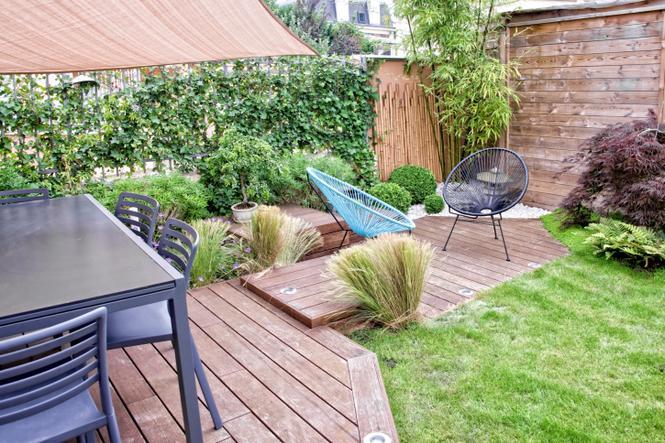Aranżacja ogrodu w stylu nowoczesnym