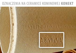 Ceramika kominowa Konekt
