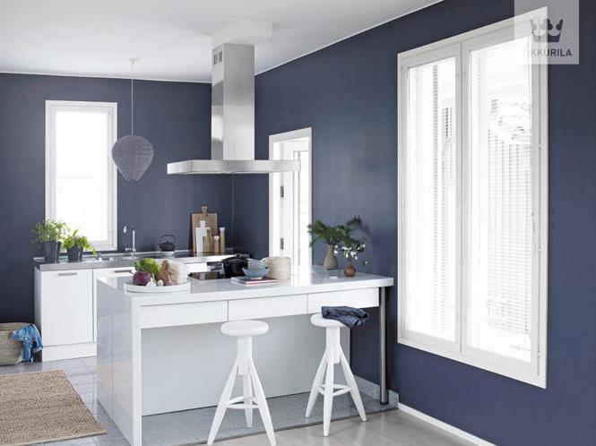 Kolory w kuchni Jak dobrać meble, dodatki i farby do malowania ścian, by uzy   -> Kuchnia Kolor Scian