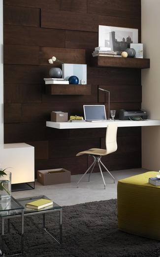 Drewno na ścianie: boazeria, fornir, sklejka