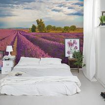 Perspektywiczna fototapeta w sypialni