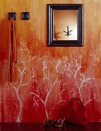 Aranżacja wnętrza w czerwonym kolorze