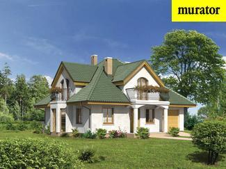 Projekt domu w stylu dworkowym