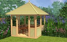 Budowa altany ogrodowej krok po kroku. Mamy dla ciebie projekt gotowy