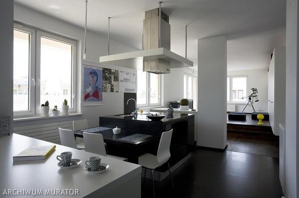 Galerie zdjęć  Biało czarna kuchnia  zdjęcia, aranżacje   -> Kuchnia Bialo Czarna Galeria