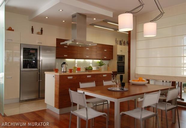 Kuchnia z jadalnią Sekrety projektowania wygodnej kuchni  Kuchnia  Murator   -> Kuchnia Z Jadalnią I Salonem W Bloku