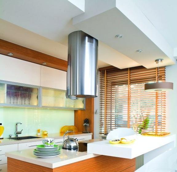 Sufit podwieszany z płyt gipsowo kartonowych w nowym domu  Budowa  Muratord   -> Kuchnia Oświetlenie Sufit