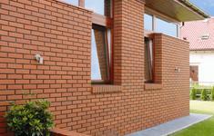 Cegły i płytki klinkierowe na elewacji domu - ZDJĘCIA, INSPIRACJE